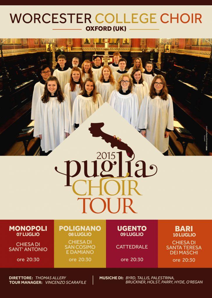 Puglia Choir Tour 2015