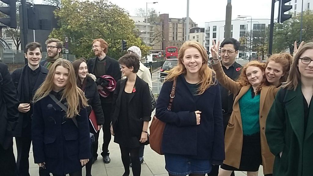 Worcester Choir between tube stations